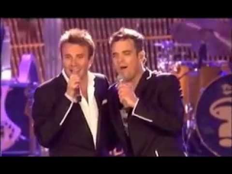 Robbie Williams and Jonny Wilkes - Me and my Shadow Live @ Leeds 2006