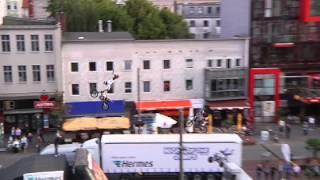 FMX Show for Hermes at Reeperbahn Hamburg