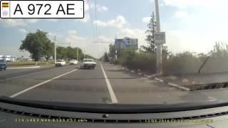 Советский автопром нарушает ПДД. А 972 АЕ.