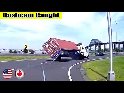 Ultimate North American Cars Driving Fails Compilation - 103 [Dash Cam Caught Video]