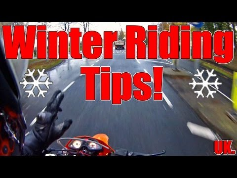 Winter Riding Tips!