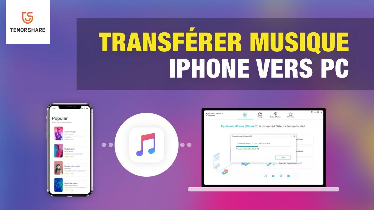 Comment Transférer De La Musique Dun Iphone Vers Un Pcmac