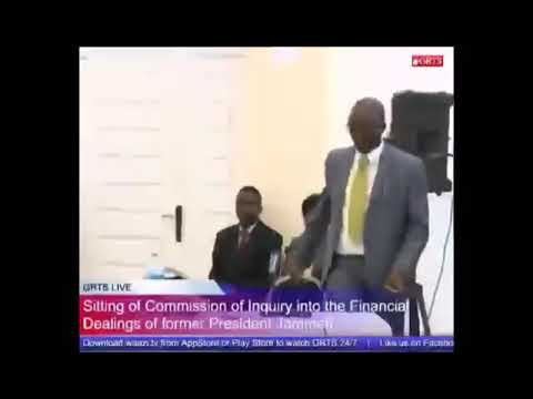 Trust Bank MD Ebrima Sallah Testifies At The Commission Of Enquiry