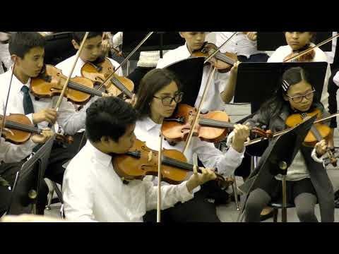 """Hornpipe from Water Music"" by Lorbeer Middle School String Orchestra"