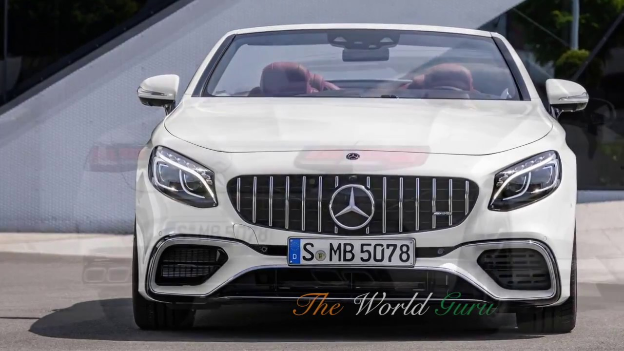 2018 Mercedes Benz S Class Coupe Cabriolet Interior Price