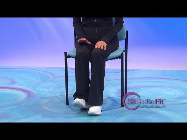 Sit and Be Fit lower body circulation to prevent DVT