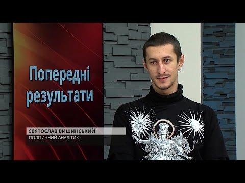 Святослав Вишинський — Попередні результати парламентських виборів (27.10.2014)