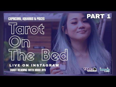 #1 Tarot on The Bed: Yuk Lihat Terawang Miss Ayu untuk Capricorn, Aquarius dan Pisces