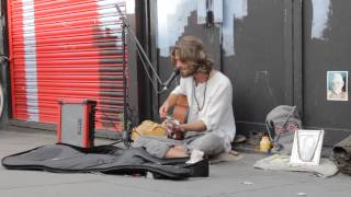 Sam Garrett - Lost in the moment (Busking)