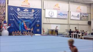 3 юношеский спортивная гимнастика