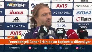 #CANLI - Fenerbahçe'ye geri dönen Caner Erkin basın toplantısında konuşuyor