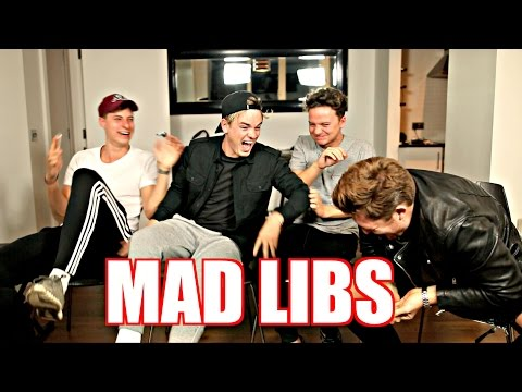 MAD LIB MADNESS | Ft. CONOR MAYNARD, MIKEY PEARCE & ALEX