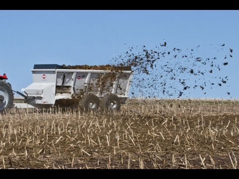Kuhn Knight SLC 100 Series ProTwin® Slinger® Commercial Manure Spreaders