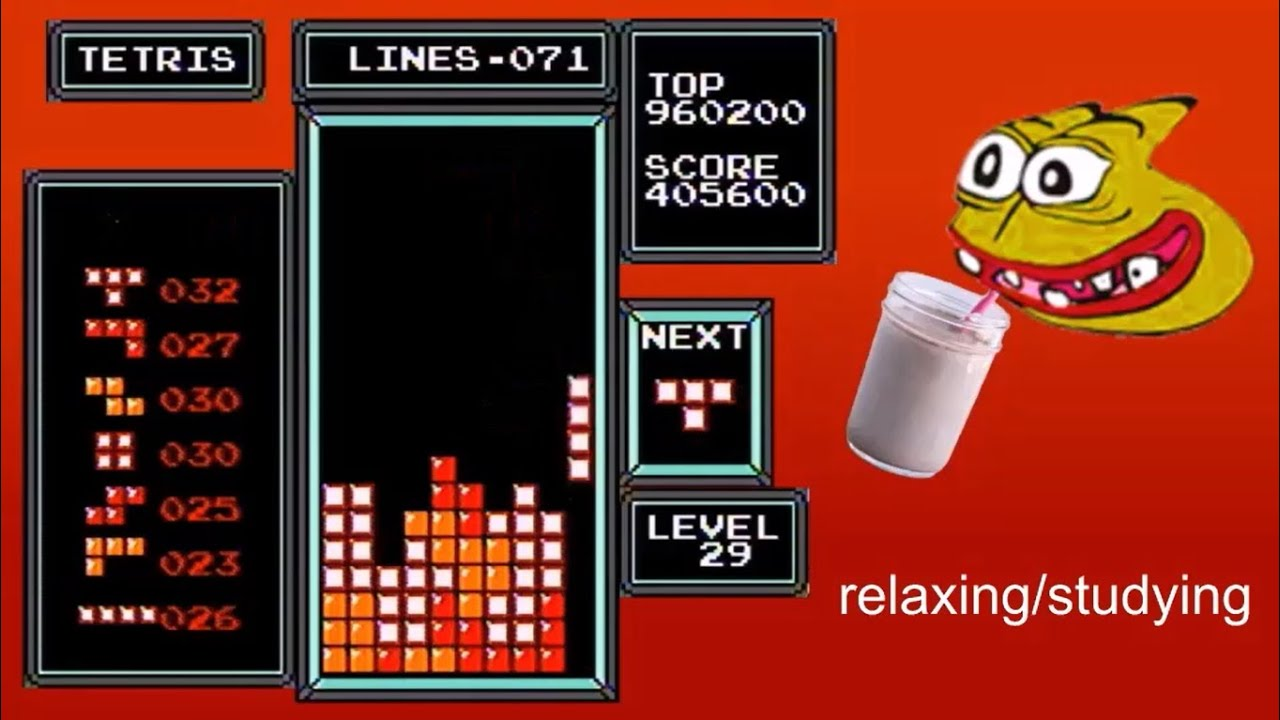 Download NES Tetris - 570,000 From a 29 Start (Former World Record)
