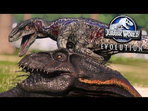 Jurassic World Evolution: MASSIVE SERIES BATTLE!!! - ALL DINOSAURS!   Jurassic World Evolution   HD