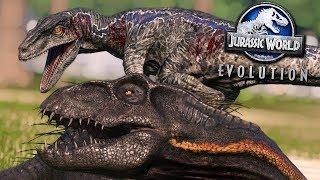 Jurassic World Evolution: MASSIVE SERIES BATTLE!!! - ALL DINOSAURS! | Jurassic World Evolution | HD