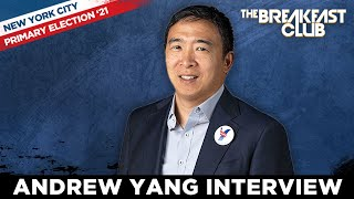 Andrew Yang On Turning Down Biden Admin For NYC Mayor Run, Reducing Poverty, Crime + More