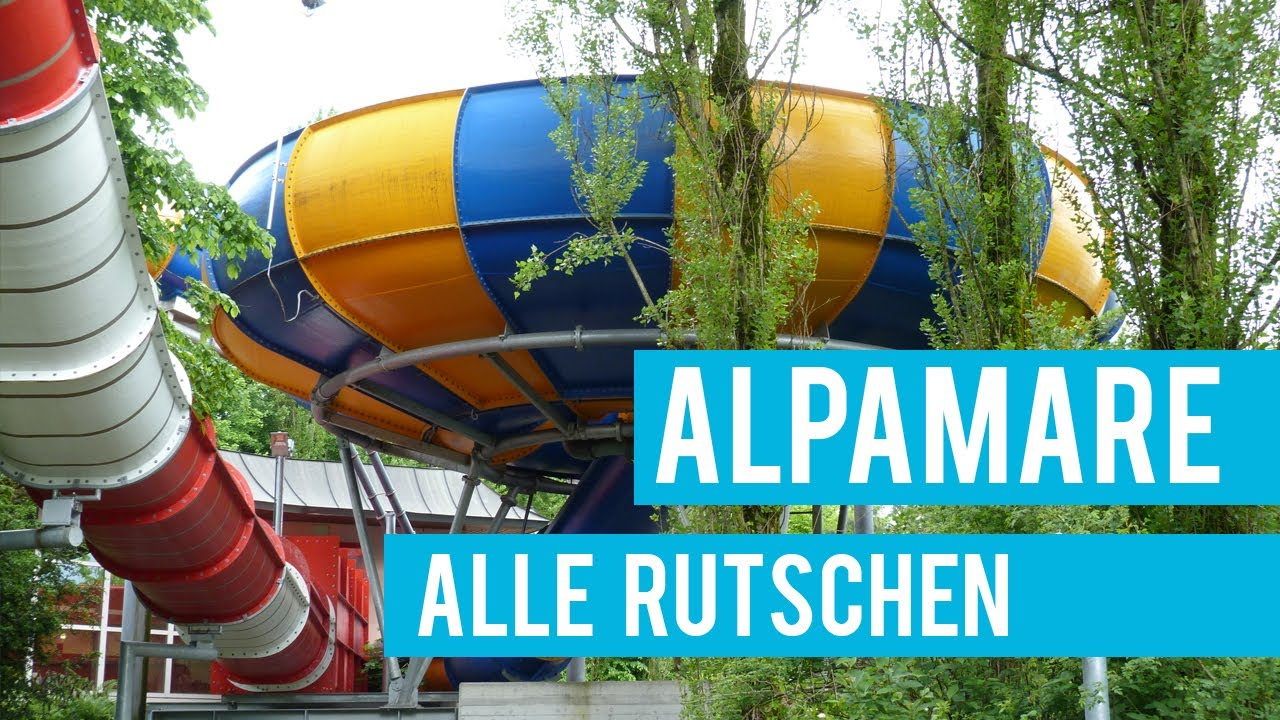 Alle Rutschbahnen im Alpamare Pfäffikon! || INSANE WATER ...