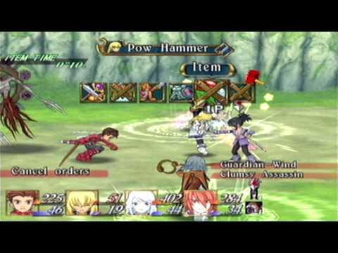 -[NXC]- Tales Of Symphonia No Equipment Challenge: Boss 5 - Sheena & Wind Guardian