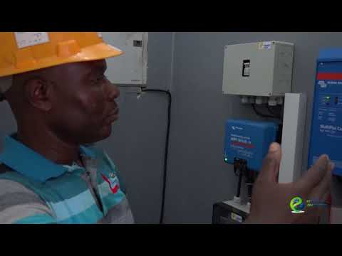 Solar Installations at TOTAL Liberia Filling Stations
