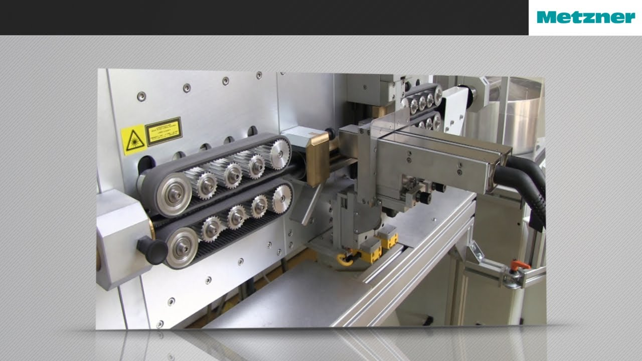 Wire and Cable Cut & Strip - AM 5350 Processing Line | Metzner ...