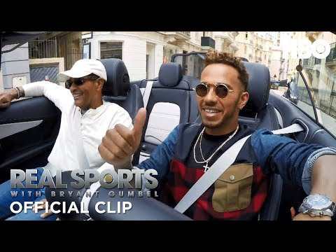 Formula 1 Champ Lewis Hamilton Drives Incognito in a Smart Car | Real Sports w/ Bryant Gumbel | HBO