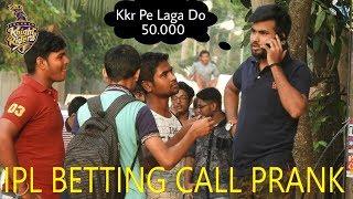 IPL BETTING (SATTA)  CALL PRANK | IN KOLKATA | PRANKS IN INDIA | By TCI