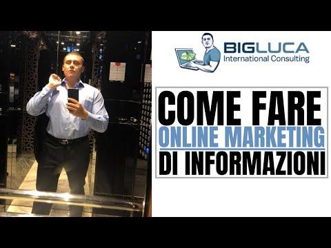 Come Fare Online Marketing di Informazioni!