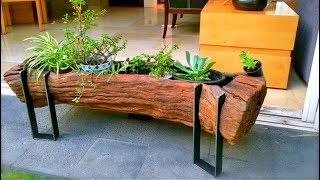99 WOOD and Log Ideas 2017 | Creative DIY ideas from wood #14