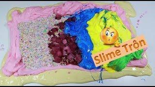 #3 Slime Trộn - Trộn 8 Hủ Slime Bắp Có Lại Với Nhau - Giống Chè Thập Cẩm Ghia 😁