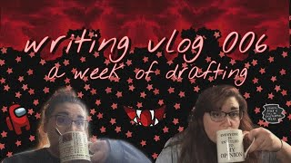 writing vlog 006 - - getting 10k words, playing among us, my night routine, & realities of writing