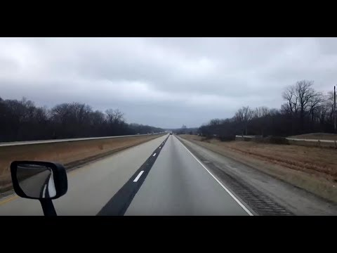 BigRigTravels LIVE! Springfield, Ohio to Edwardsville, Illinois Interstate 70 West-Jan. 18, 2019