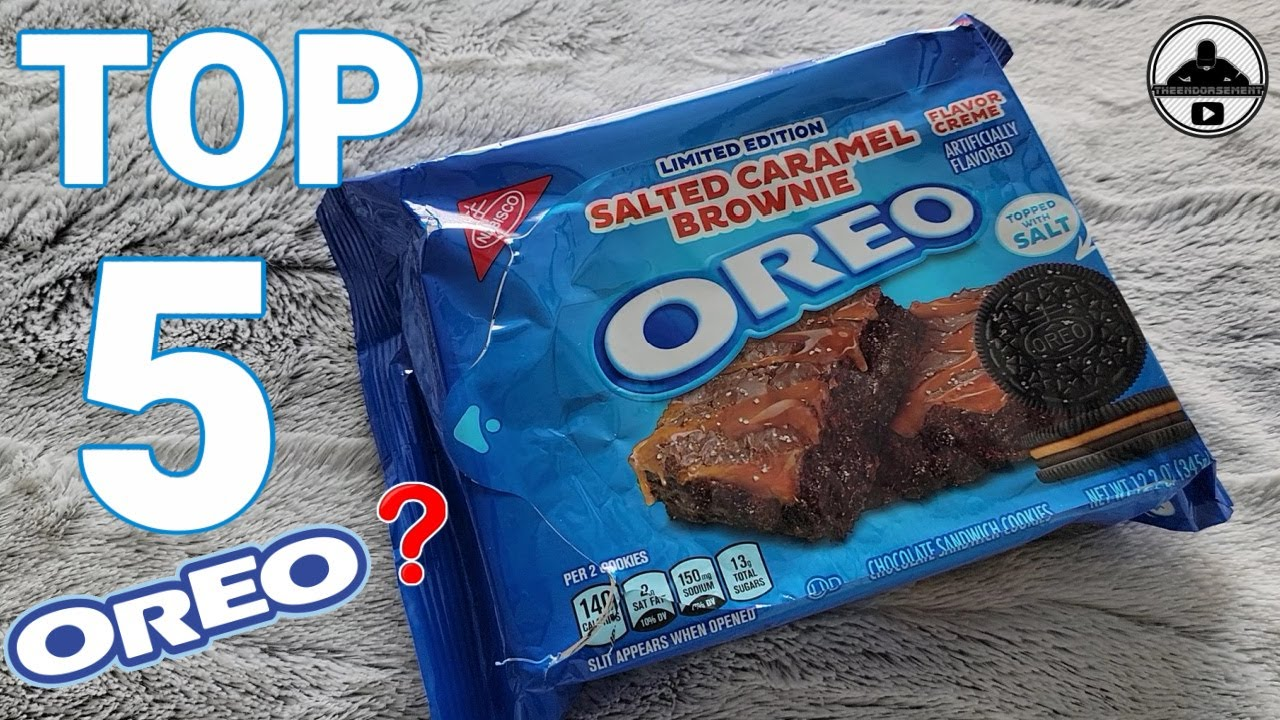 Oreo® Salted Caramel Brownie Review! 🧂🍪 | theendorsement