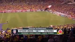 Estados Unidos 2 Vs Colombia 4 [Amistoso Internacional]