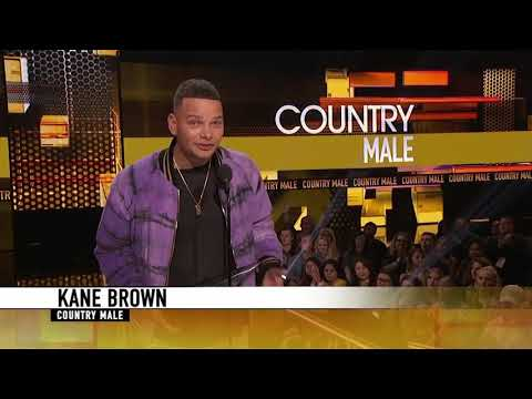Paul Schadt and Meg - Kane Brown wins BIG at AMA Awards!