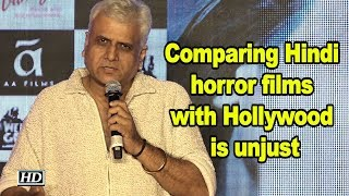 Comparing Hindi horror films with Hollywood is unjust: Bhushan Patel