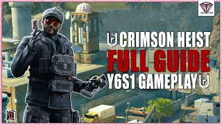 *NEW* Crimson Heist Season FULL GUIDE + GAMEPLAY - Rainbow Six Siege Y6S1