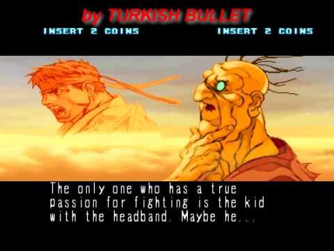 Street Fighter III: New Generation (Arcade) - (Endings)