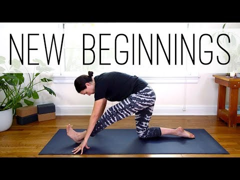 Yoga For New Beginnings|Yoga With Adriene