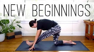 Yoga For New Beginnings  |  Yoga With Adriene