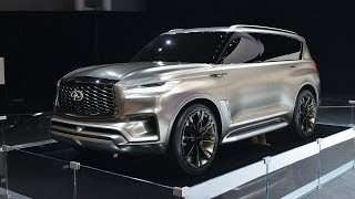 2019 Infiniti Qx80 Gets Redesigned Body And New Platform