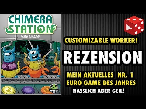 Chimera Station - Mein aktuelles Nr. 1 Euro Game des Jahres - Customizable Worker - deutsche Review