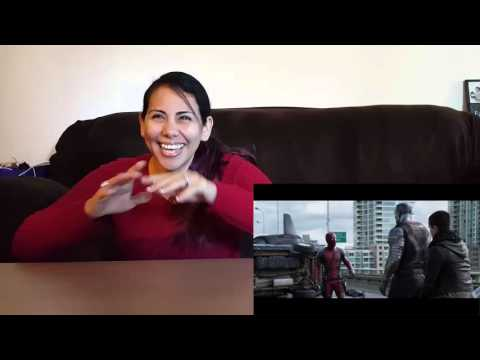 Deadpool Red Band Trailer 2 HD Cynthia's Reaction Redband NSFW