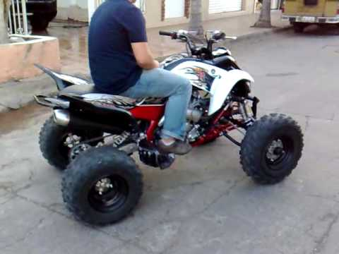 yamaha quad 700 r se 2010 cotija youtube. Black Bedroom Furniture Sets. Home Design Ideas