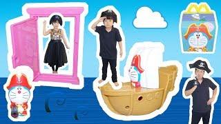 ★海賊船で宝探し!ハッピーセット「ドラえもん」★McDonald's Happy Set★ thumbnail