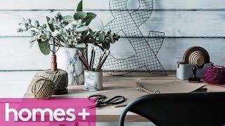 Diy Project: Marble-look Storage Tins - Homes+