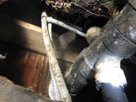 mobile home plumbing leak solved 3