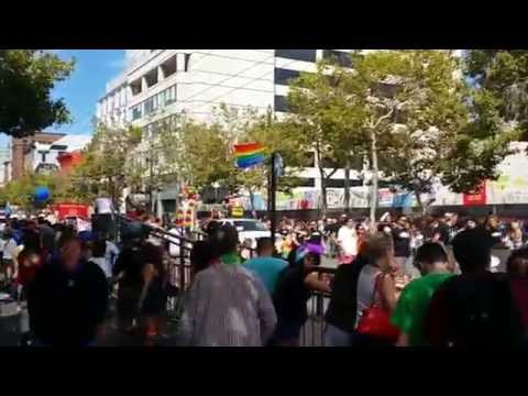 Gay Pride 2015 - FULL PARADE VIDEO (Downtown San Francisco, California)