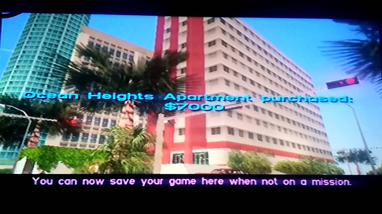 Grand Theft Auto: Vice City  Ocean Heights Apartment  Buying Property #1