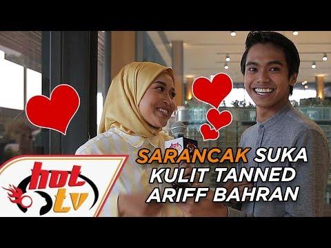 CBS: Sarancak suka ARIFF BAHRAN sebab berkulit tanned?